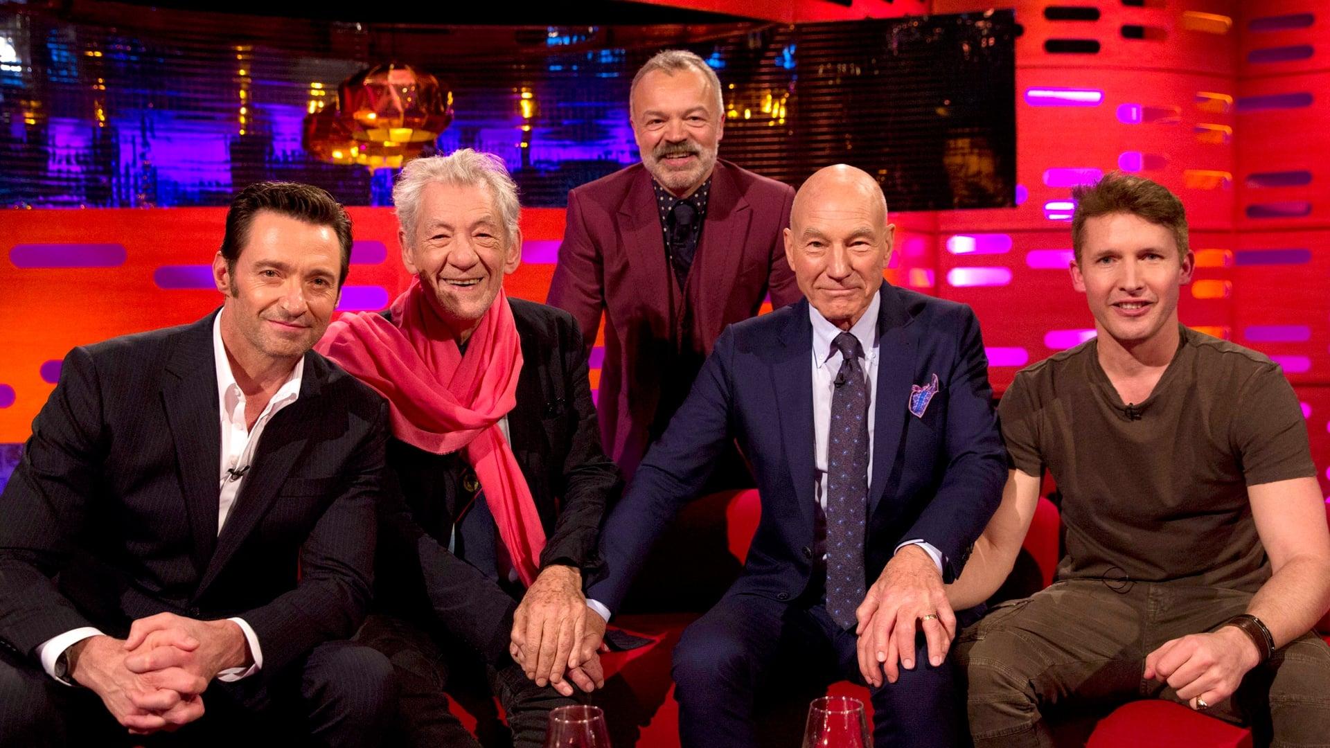 The Graham Norton Show Season 20 :Episode 19  Hugh Jackman, Sir Patrick Stewart