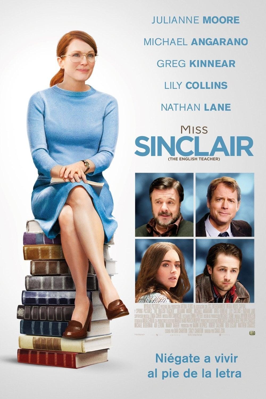 Póster Miss Sinclair