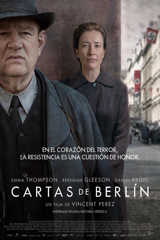Póster Cartas de Berlín