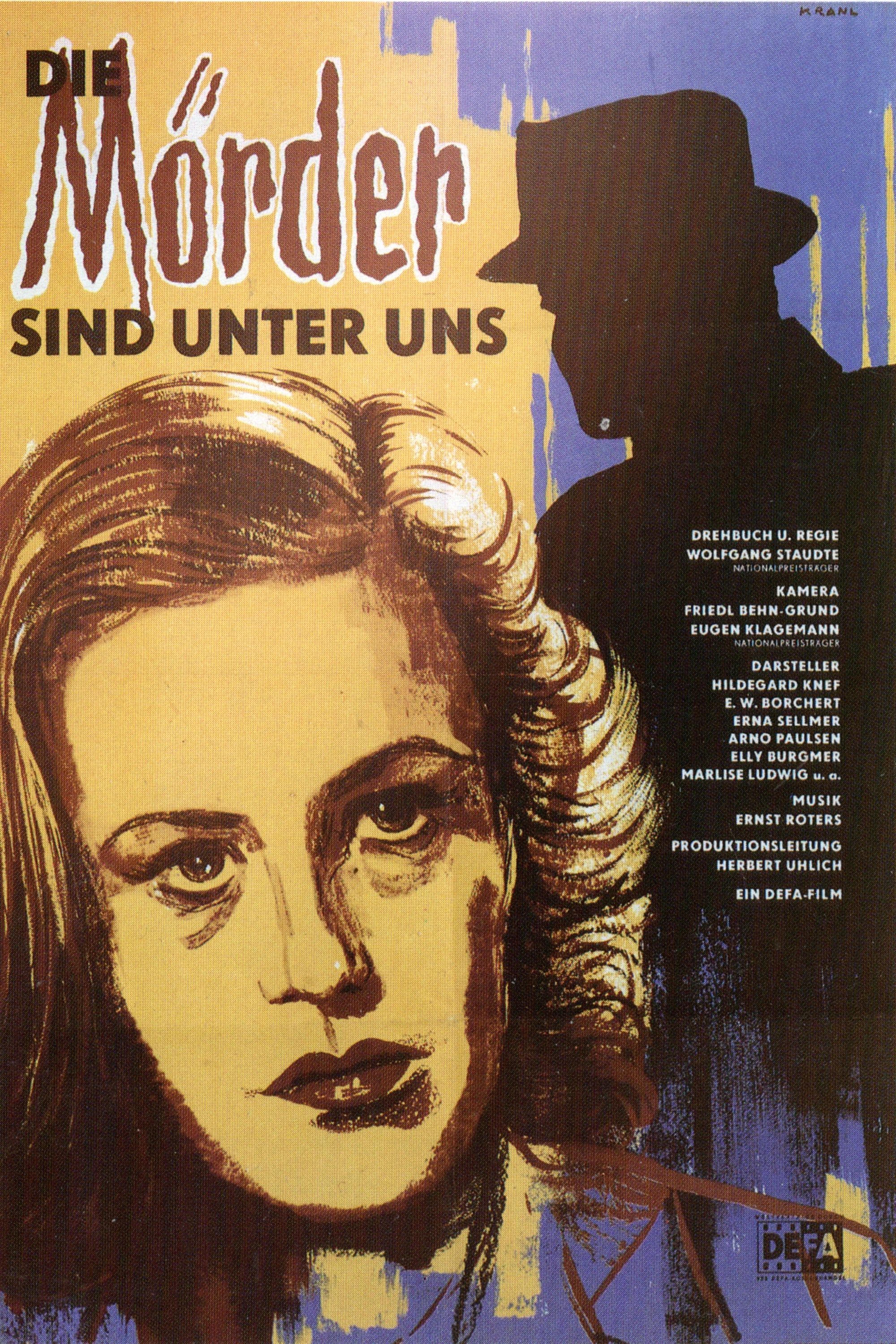 the murderers are among us Susanne wallner returns to the ruins of berlin from a concentration camp after ww2 to discover that someone else lives in her apartment: dr hans mertens, the war made.