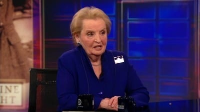 The Daily Show with Trevor Noah Season 17 :Episode 93  Madeleine Albright