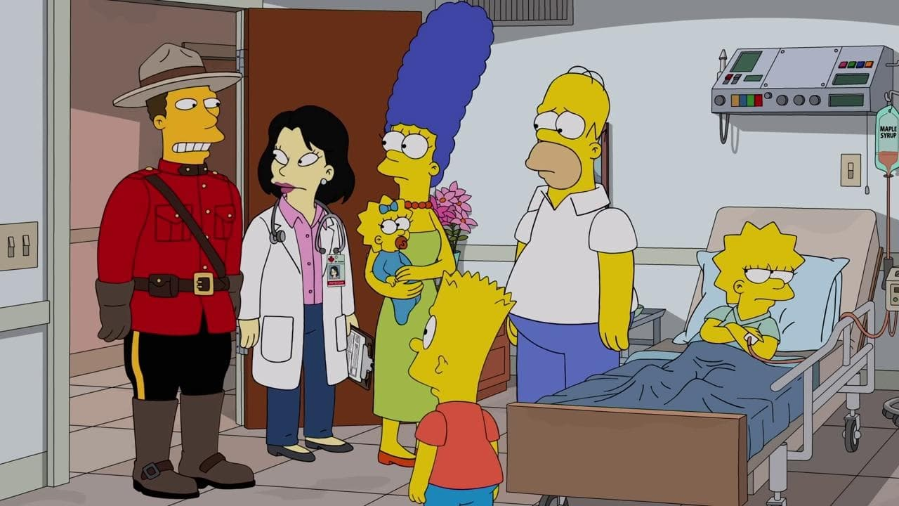 The Simpsons Season 30 :Episode 21  D'oh Canada