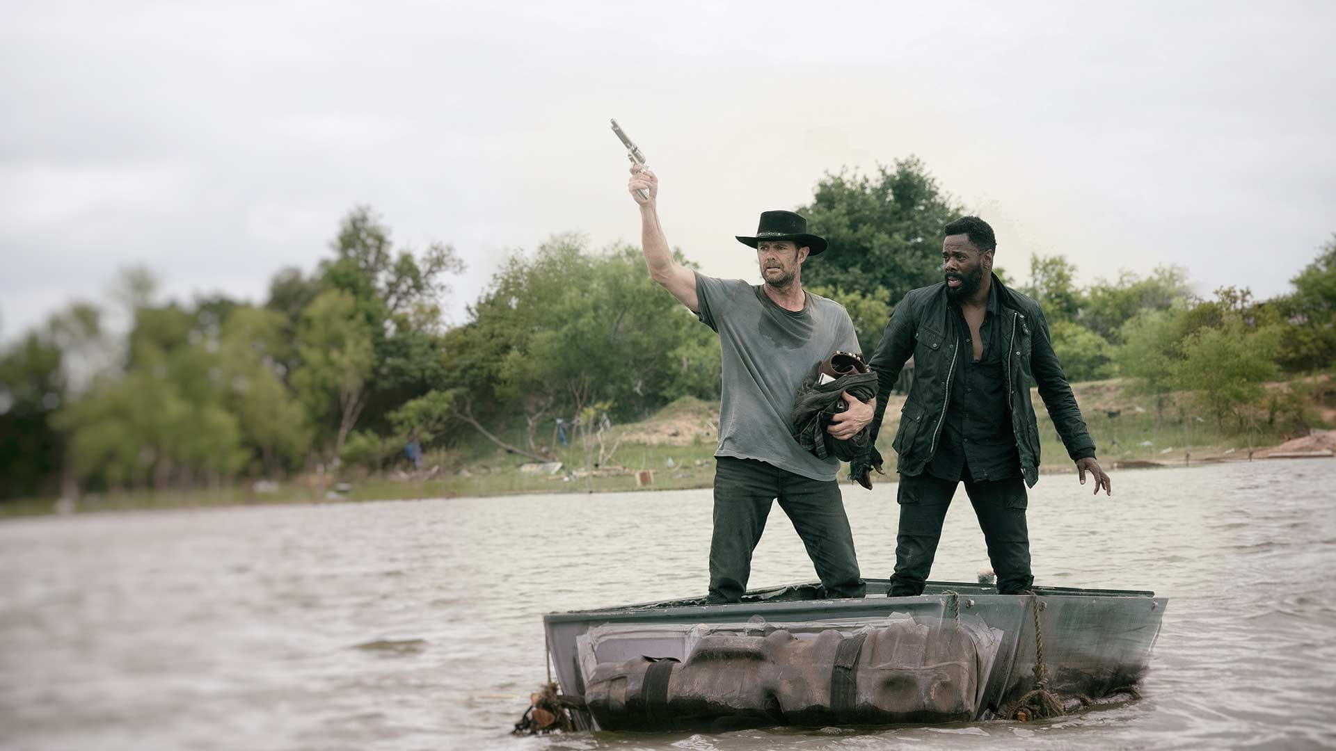 Fear the Walking Dead - Season 4 Episode 13 : Blackjack