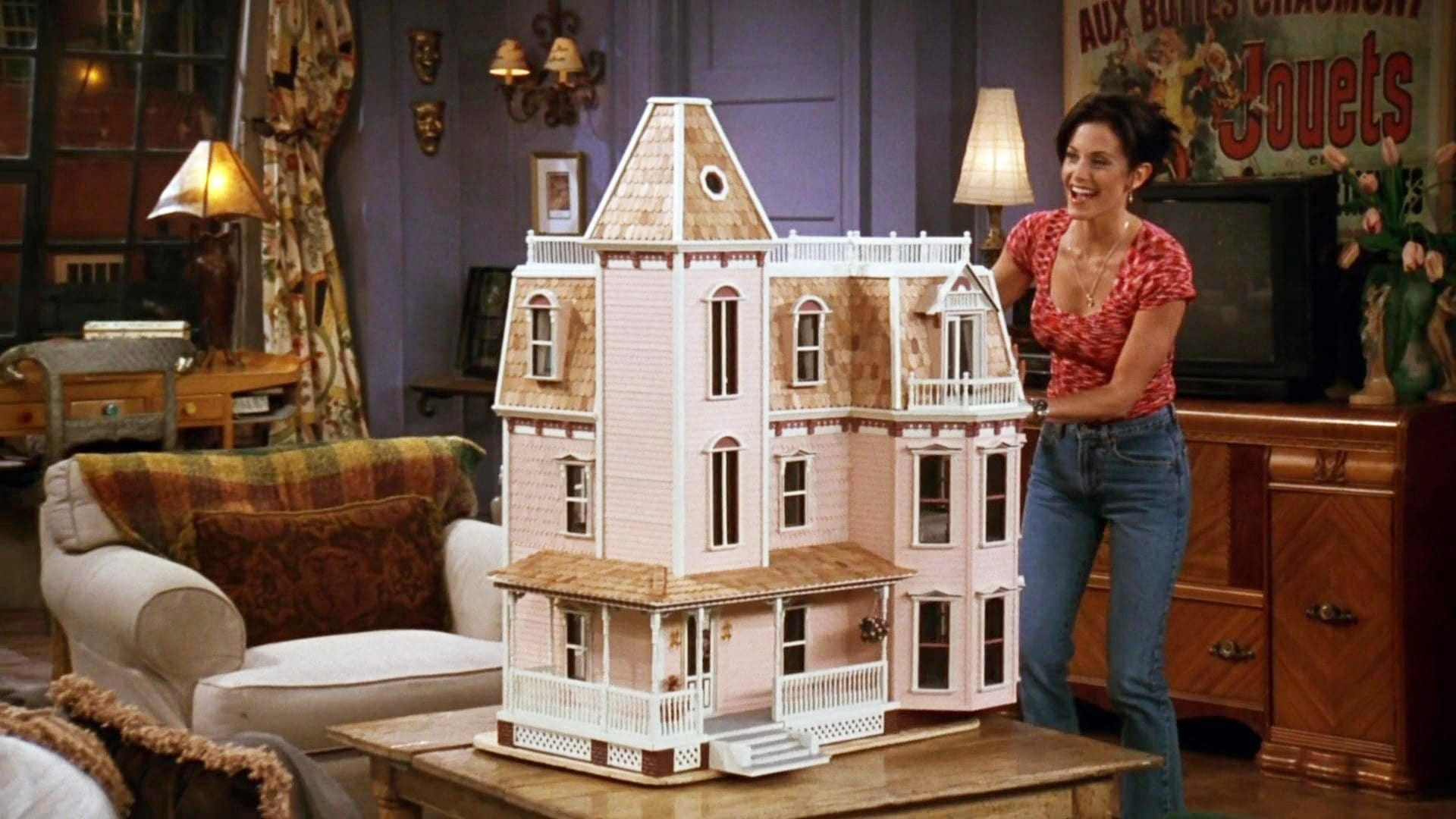 Friends Season 3 :Episode 20  The One With the Dollhouse