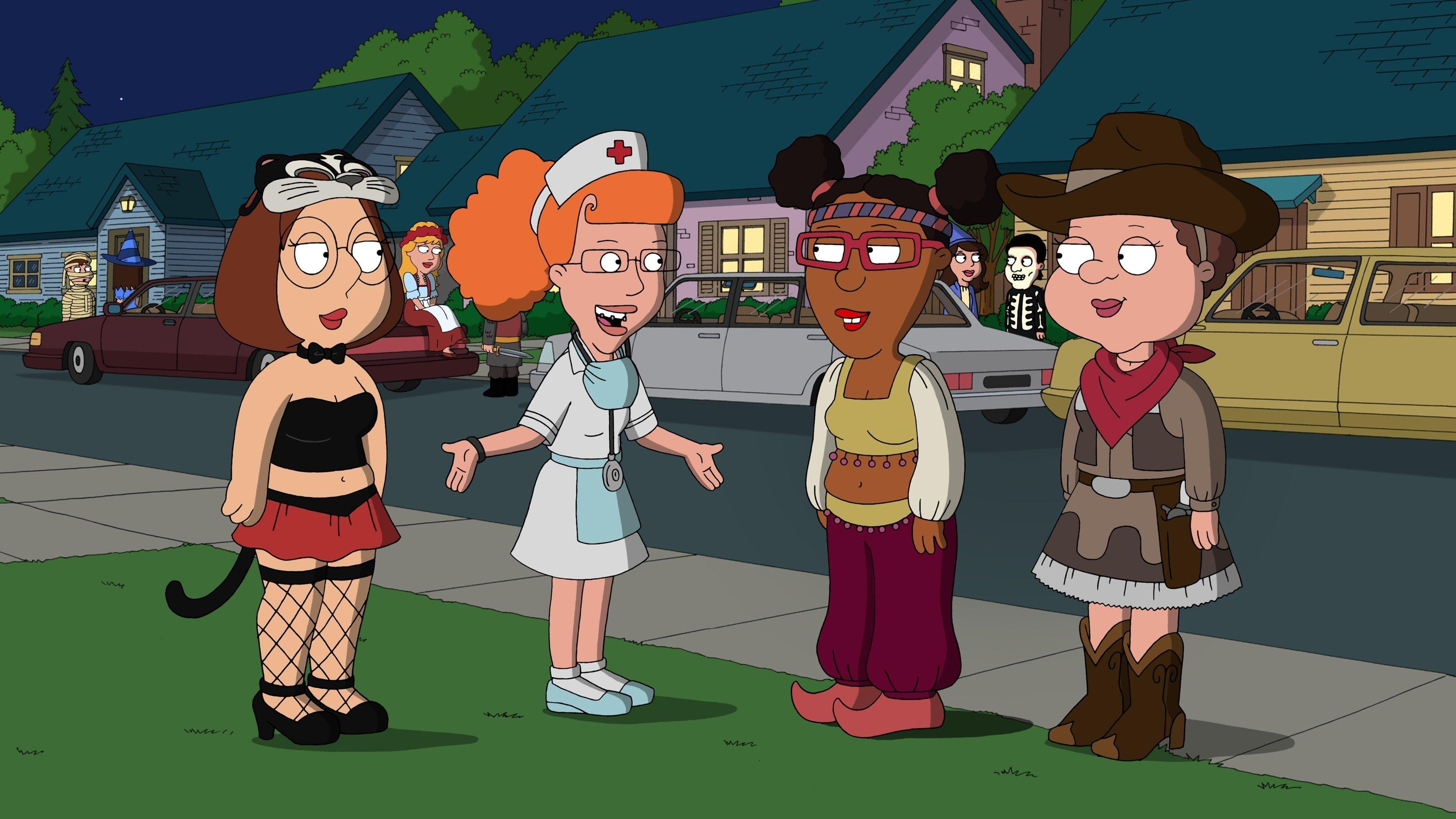 Family Guy Season 9 :Episode 4  Halloween on Spooner Street