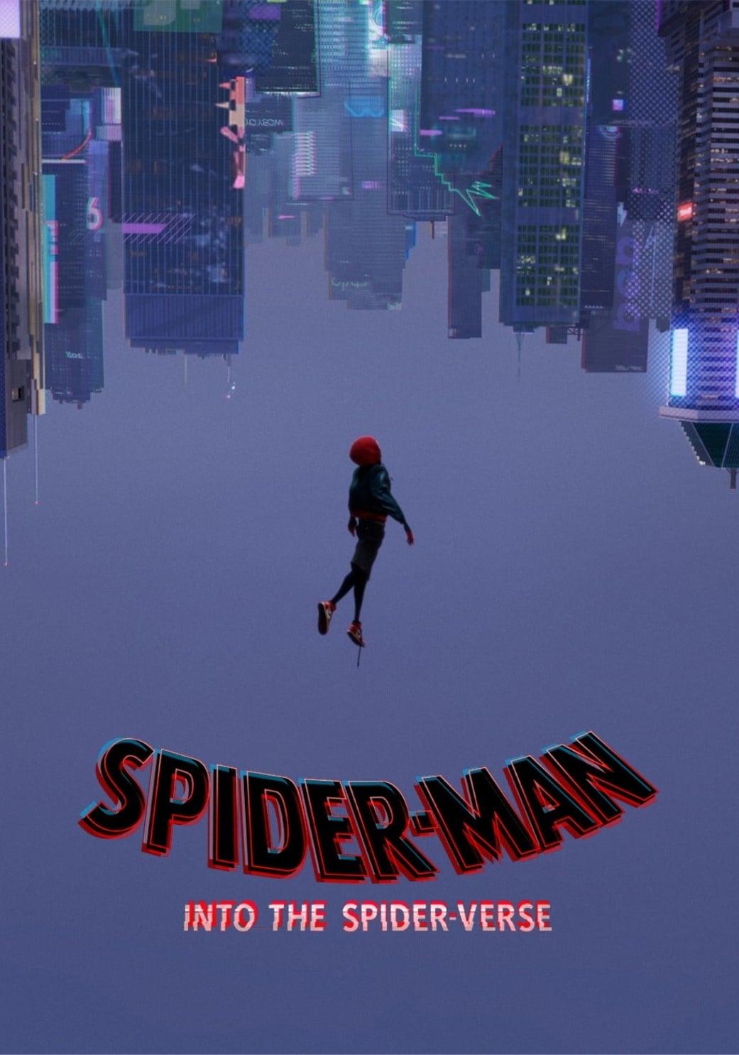 spiderman in the spider verse
