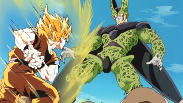 Dragon Ball Z Kai Season 4 :Episode 12  Battle at the Highest Level! Goku Goes All Out!
