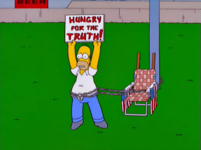 Die Simpsons Season 12 :Episode 15  Der hungrige, hungrige Homer