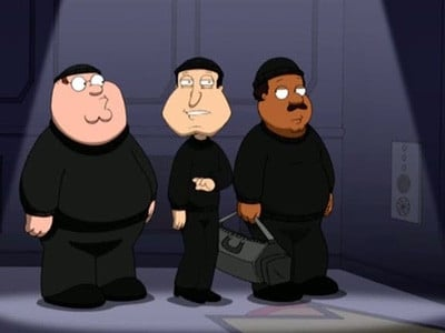 Family Guy Season 7 :Episode 7  Ocean's Three and a Half