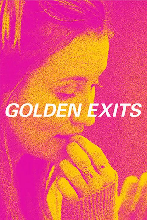 Póster Golden Exits