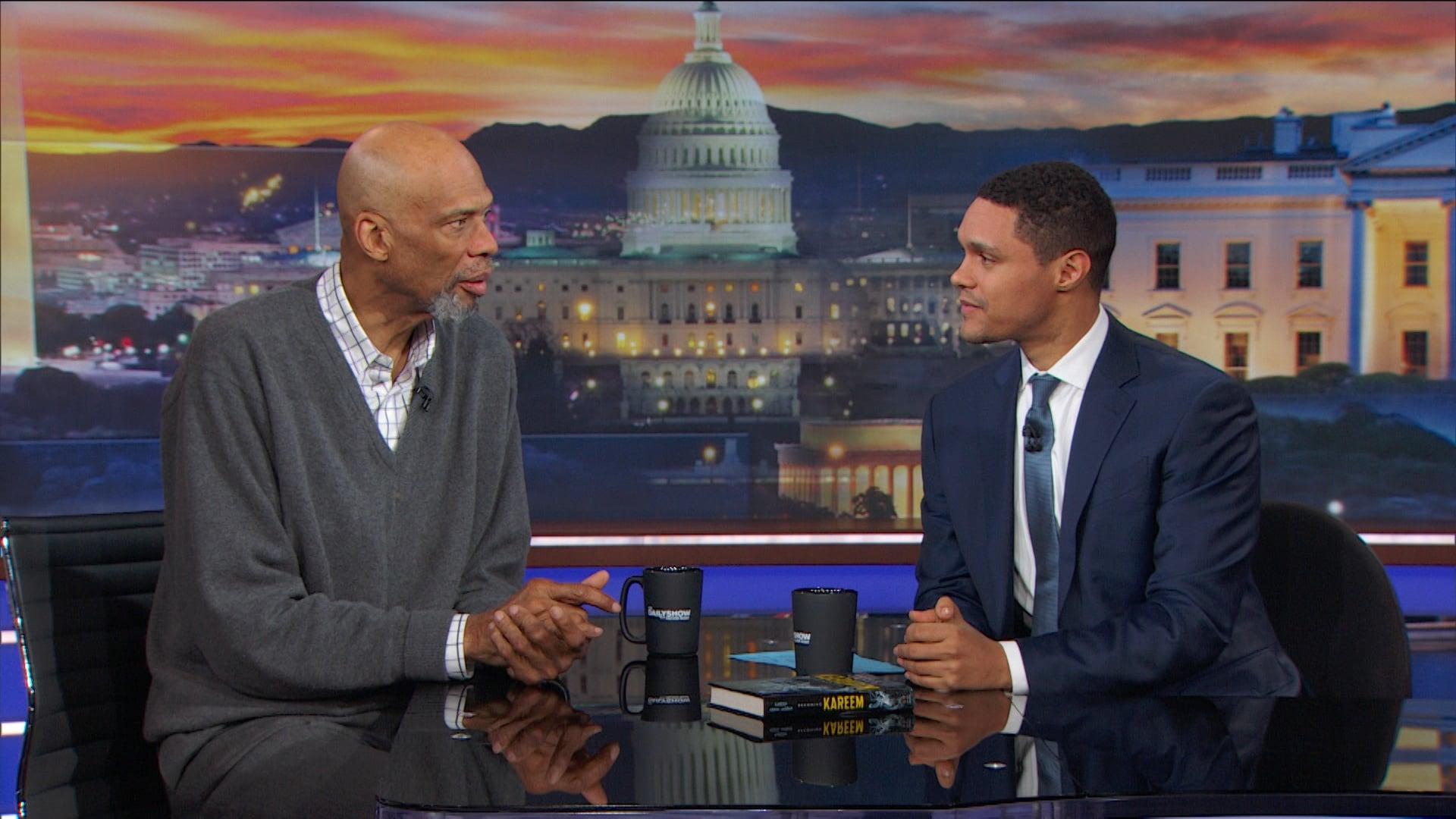 The Daily Show with Trevor Noah Season 23 :Episode 43  Kareem Abdul-Jabbar