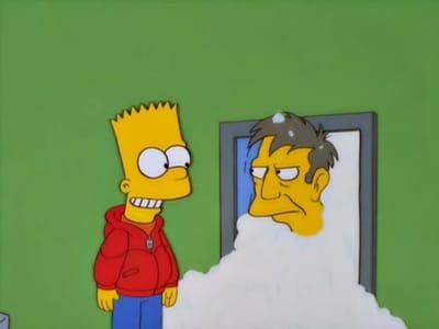 Die Simpsons Season 12 :Episode 8  Rektor Skinners Gespür für Schnee