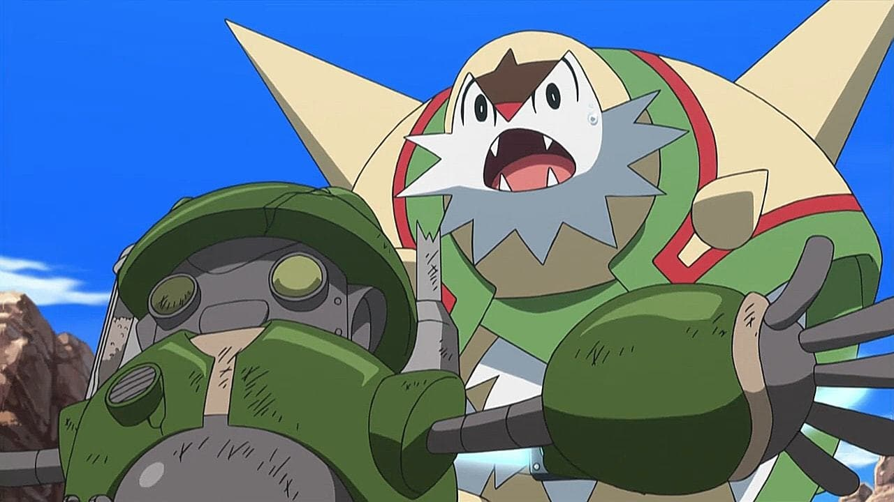 Pokémon Season 19 :Episode 15  A Watershed Moment!