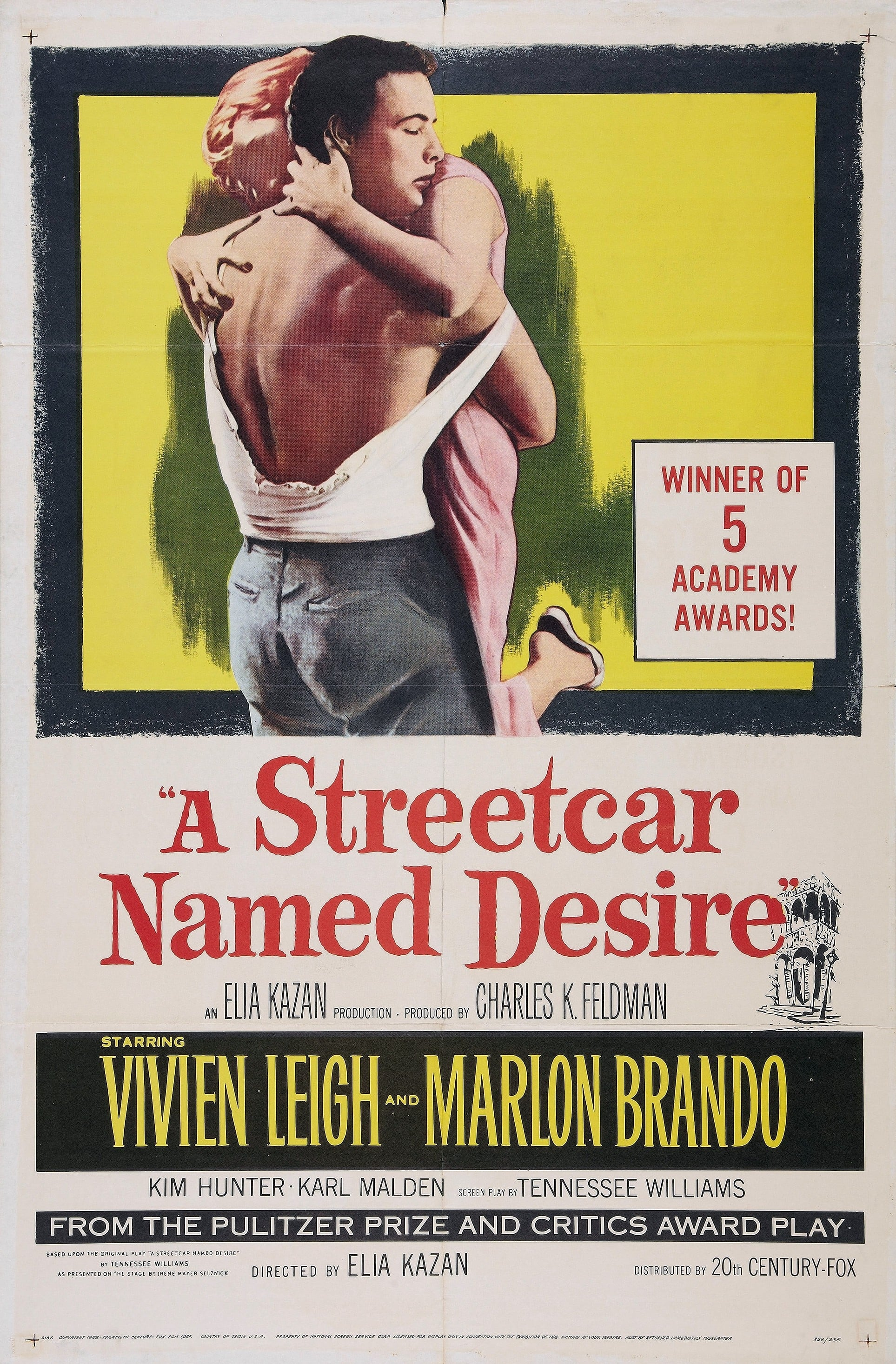 review a streetcar named desire by (redirected from a streetcar named desire (play)) a streetcar named desire is a 1947 play written by american playwright tennessee williams that received the pulitzer prize for drama in 1948 the play opened on broadway on december 3, 1947, and closed on december 17, 1949.