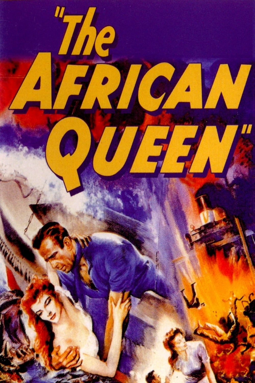film reviews on the african queen Despite being 50 years old, there is still something refreshing about watching the african queen set at the outbreak of world war i, humphrey bogart stars as.