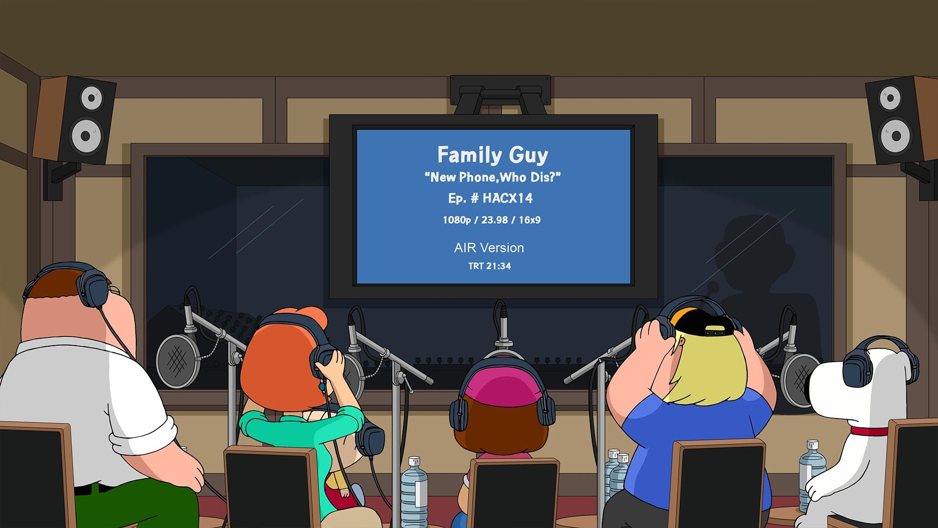 Family Guy - Season 17 Episode 16 : You Can't Handle the Booth