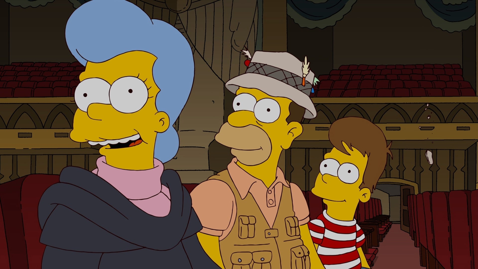 The Simpsons Season 23 :Episode 16  How I Wet Your Mother