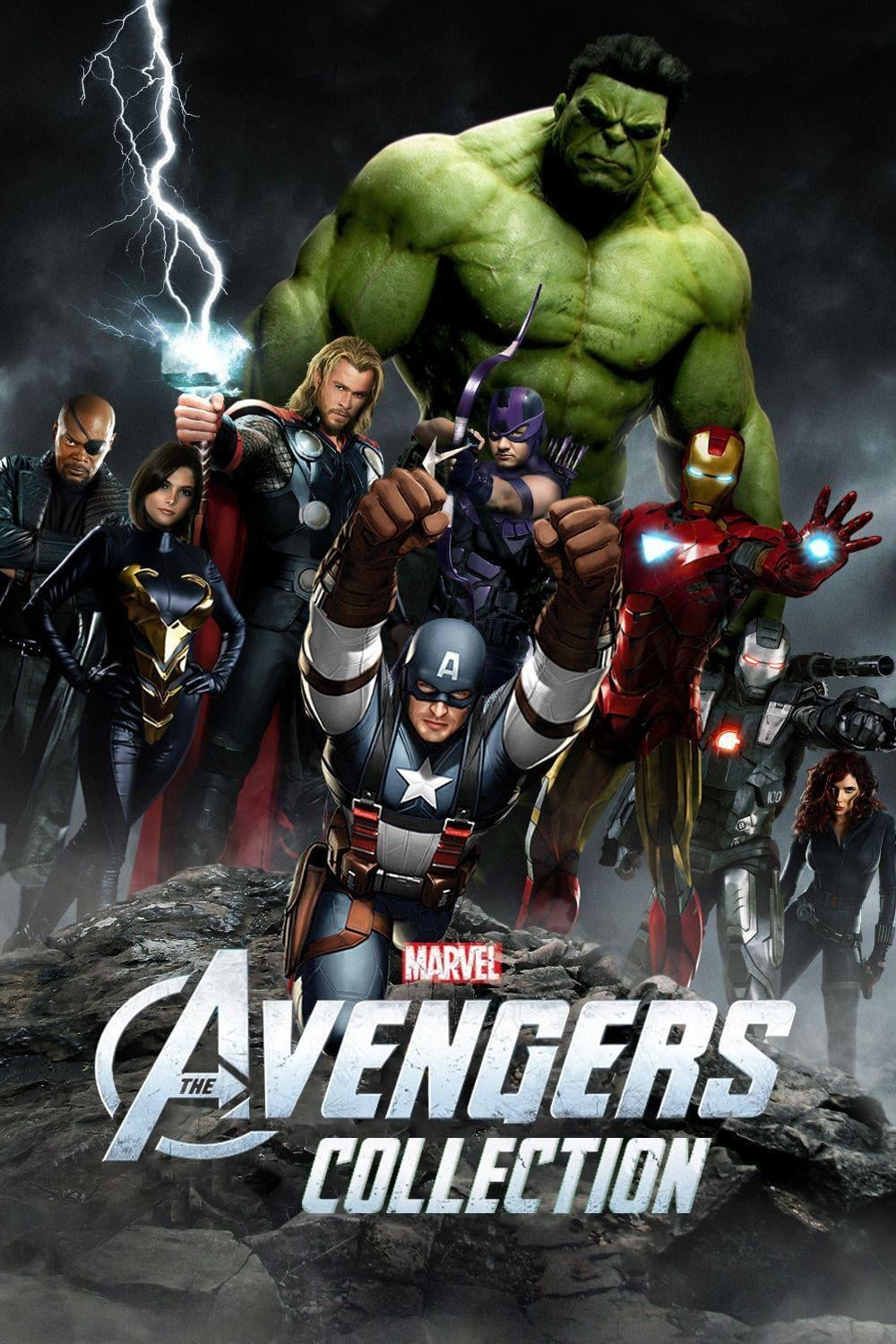 all movies from the avengers collection saga are on movies film