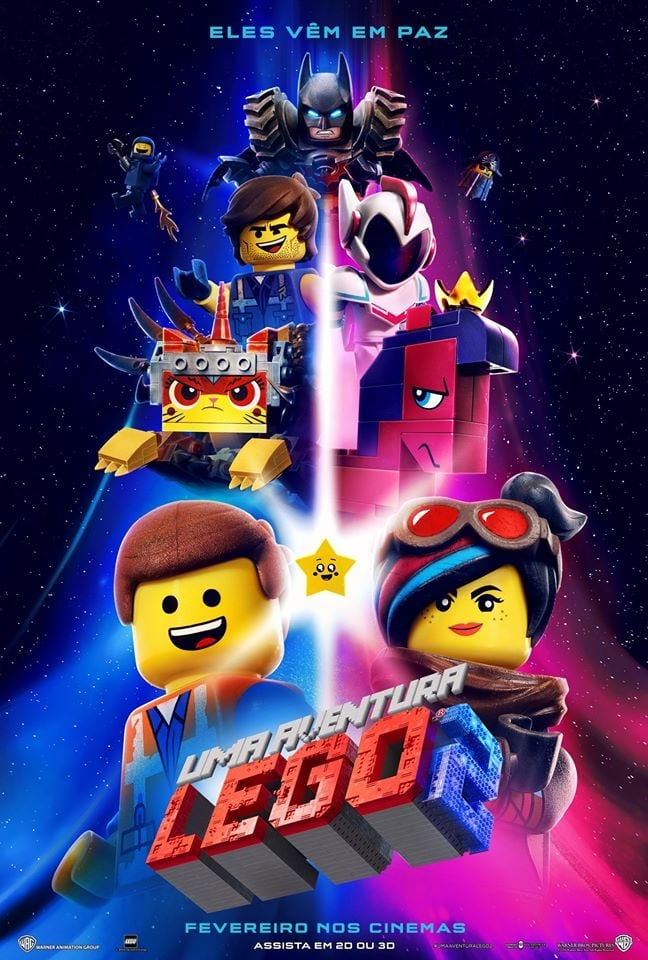 Uma Aventura Lego 2 (2019) Torrent - BluRay 720p e 1080p Dublado / Dual Áudio 5.1 Download