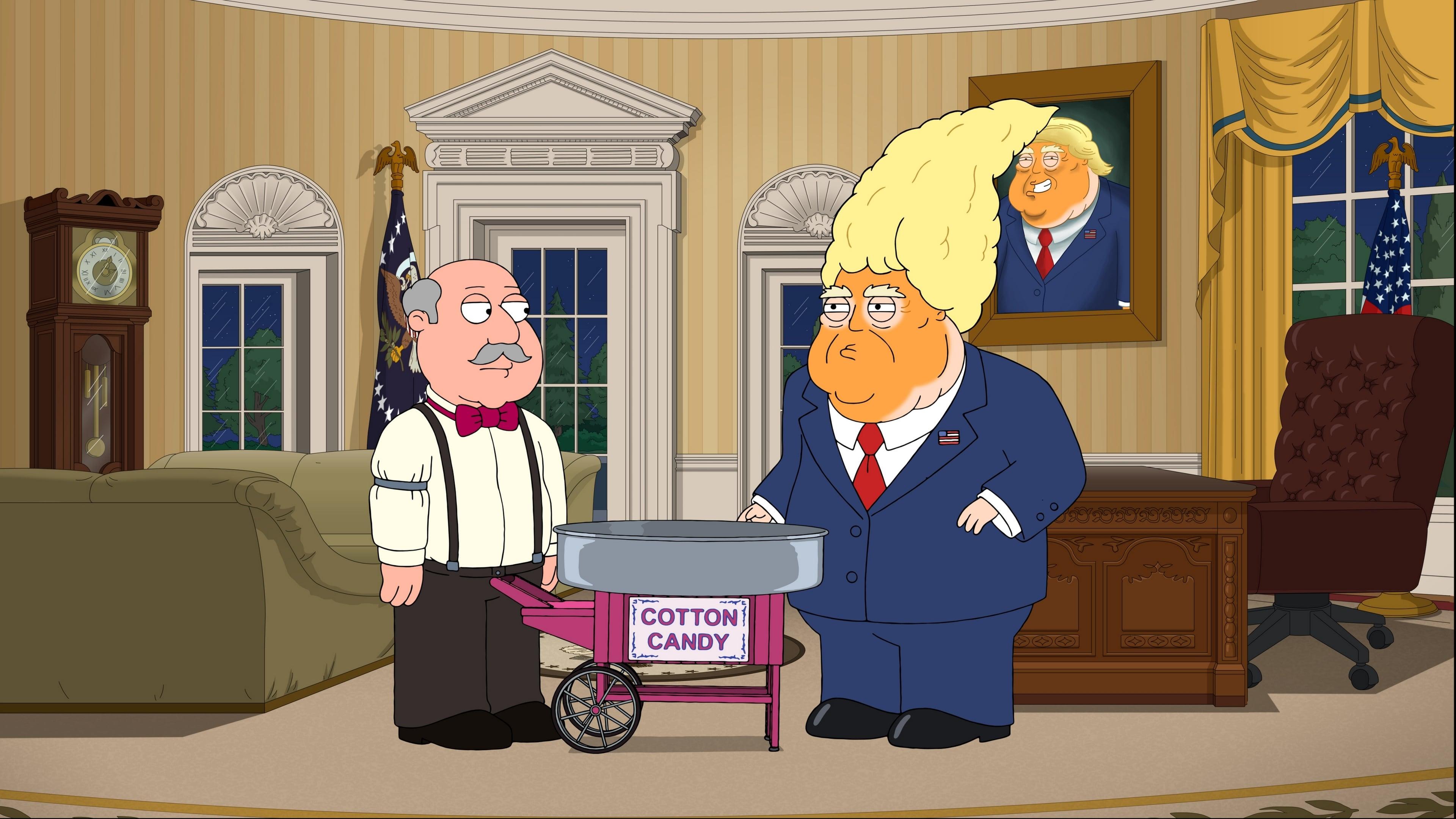 Family Guy Season 17 :Episode 11  Trump Guy