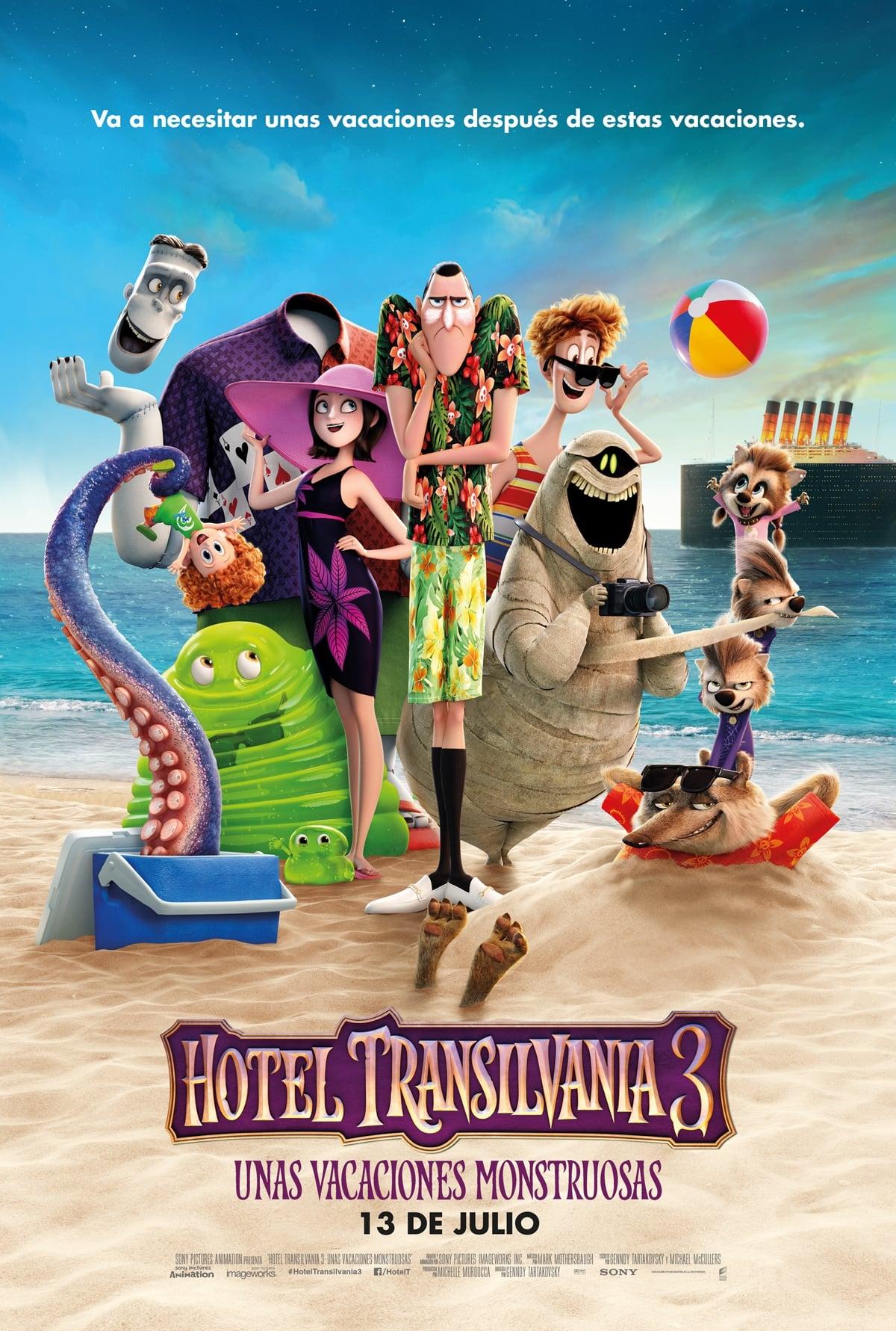 Póster Hotel Transilvania 3: Unas vacaciones monstruosas