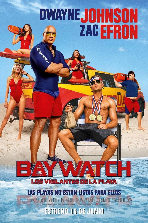 Póster Baywatch: Los vigilantes de la playa