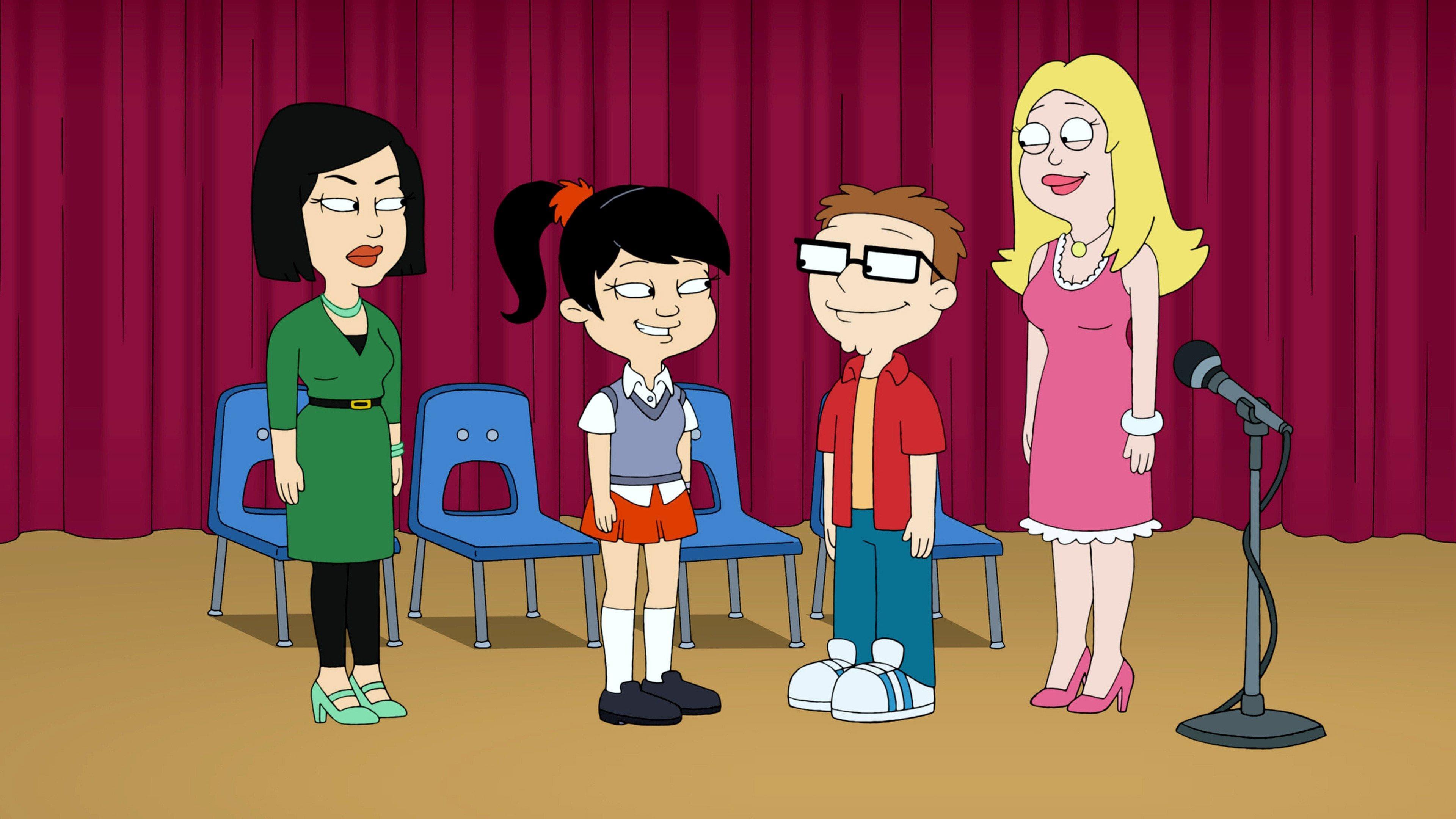 American Dad! - Season 9 Episode 14 : Spelling Bee My Baby