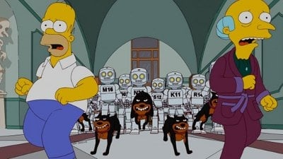 The Simpsons Season 23 :Episode 17  Them, Robot