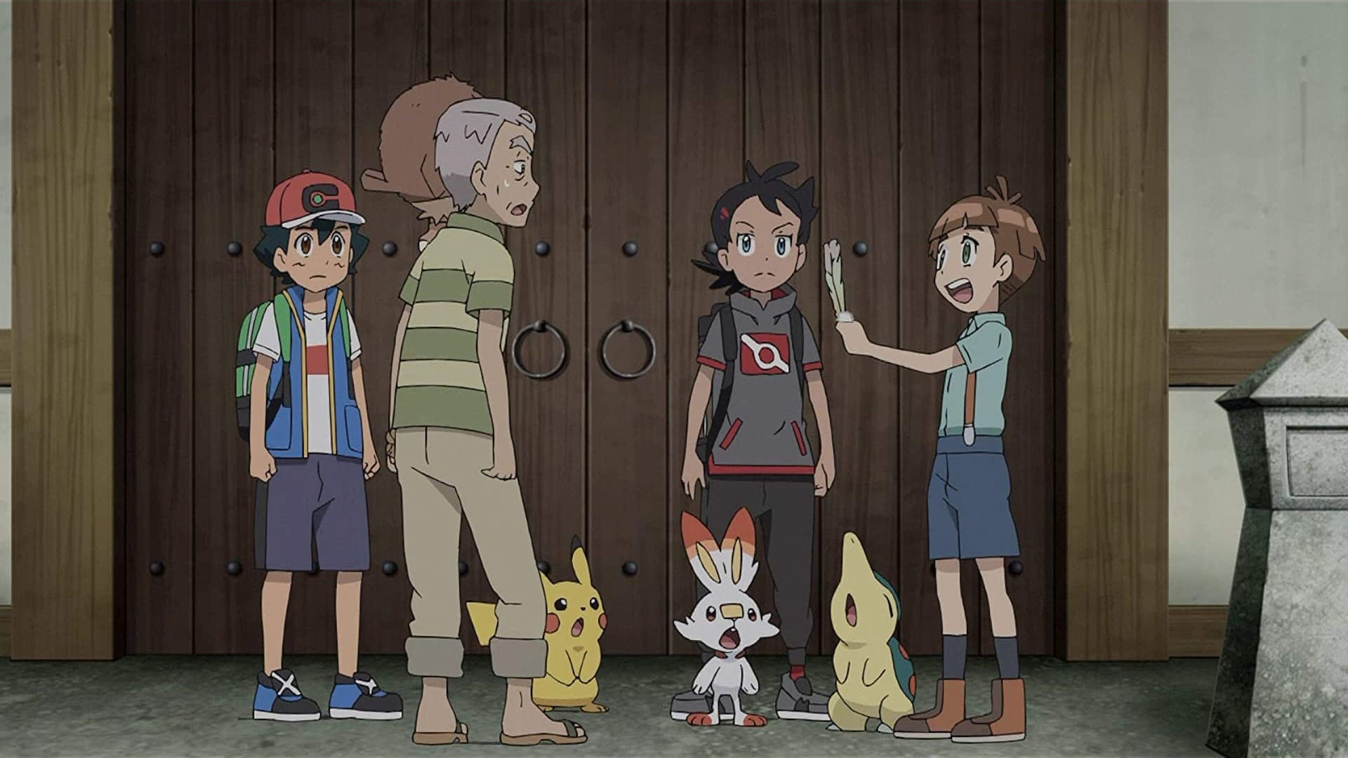 Pokémon Season 23 :Episode 9  Finding a Legend!
