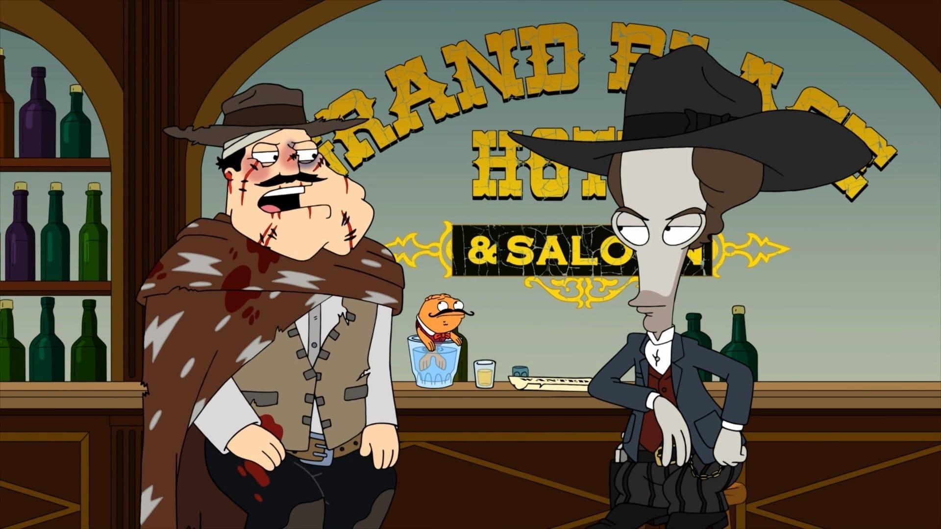 American Dad! Season 14 :Episode 22  West to Mexico