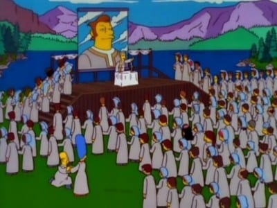 The Simpsons Season 9 :Episode 13  The Joy of Sect