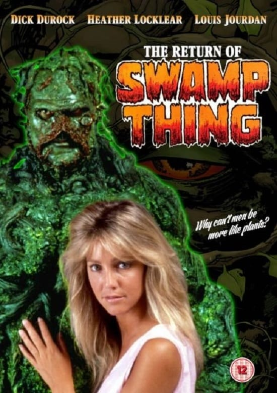 the return of swamp thing  1989   u2022 movies film