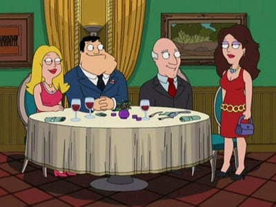 American Dad! Season 3 :Episode 15  Four Little Words