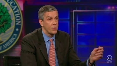 The Daily Show with Trevor Noah Season 17 :Episode 59  Arne Duncan