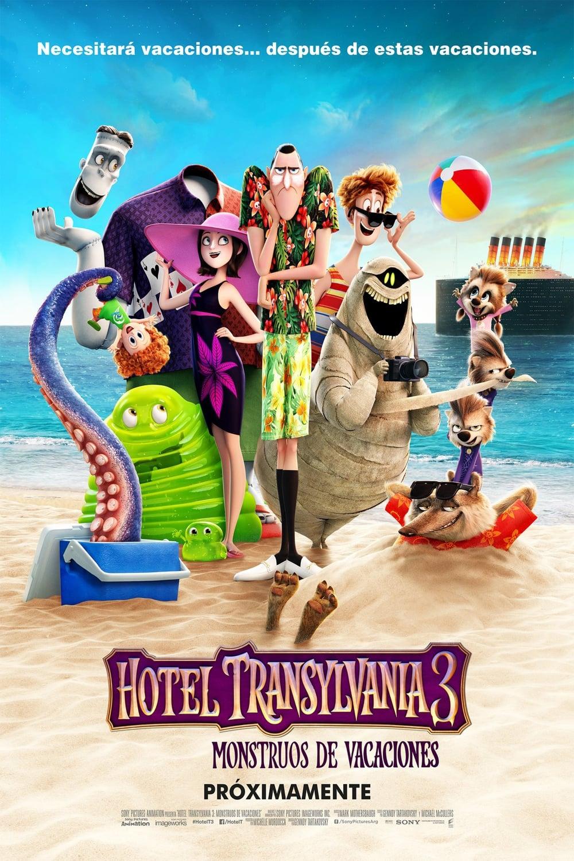 Póster Hotel Transilvania 3: Monstruos De Vacaciones