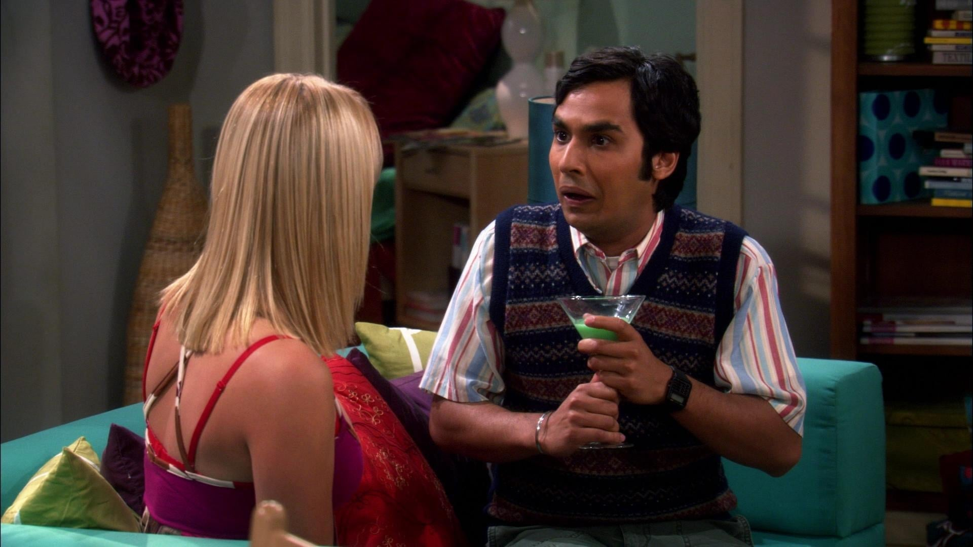 The Big Bang Theory Season 1 :Episode 8  The Grasshopper Experiment