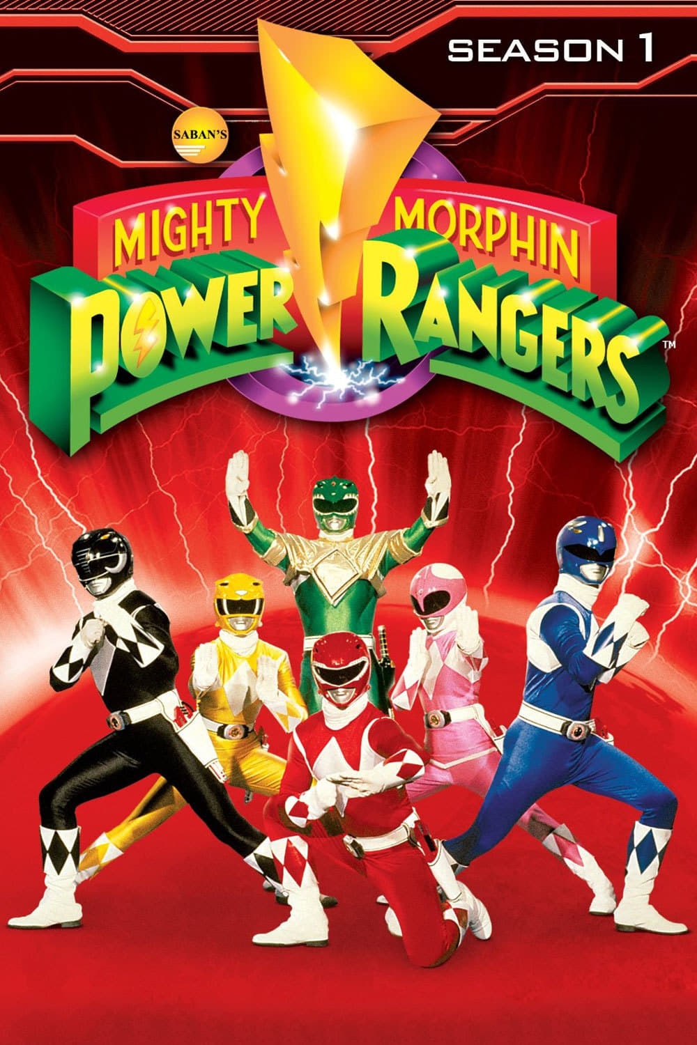 Power Rangers Season 1
