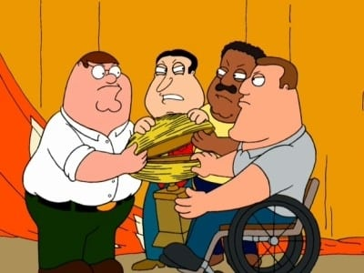 Family Guy - Season 2 Episode 5 : Love Thy Trophy