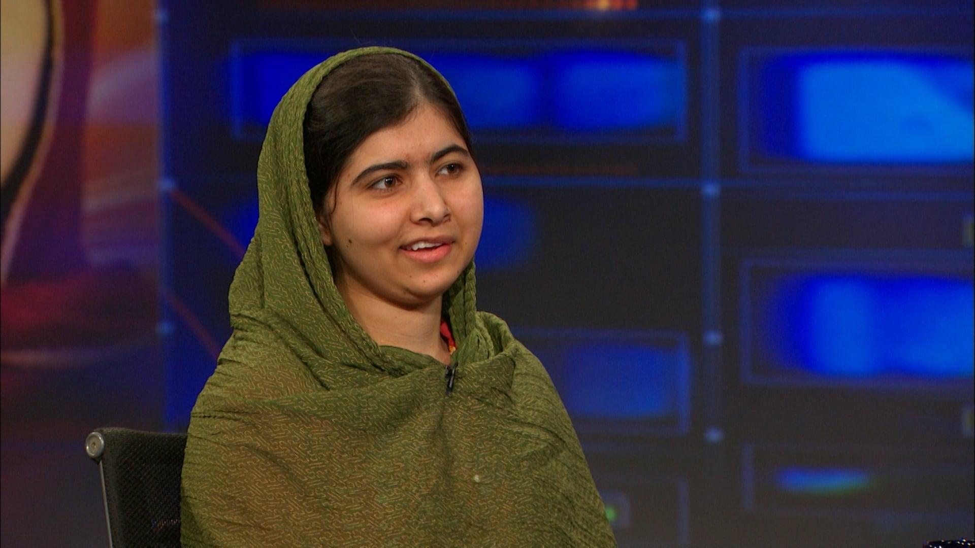 The Daily Show with Trevor Noah Season 20 :Episode 122  Malala Yousafzai