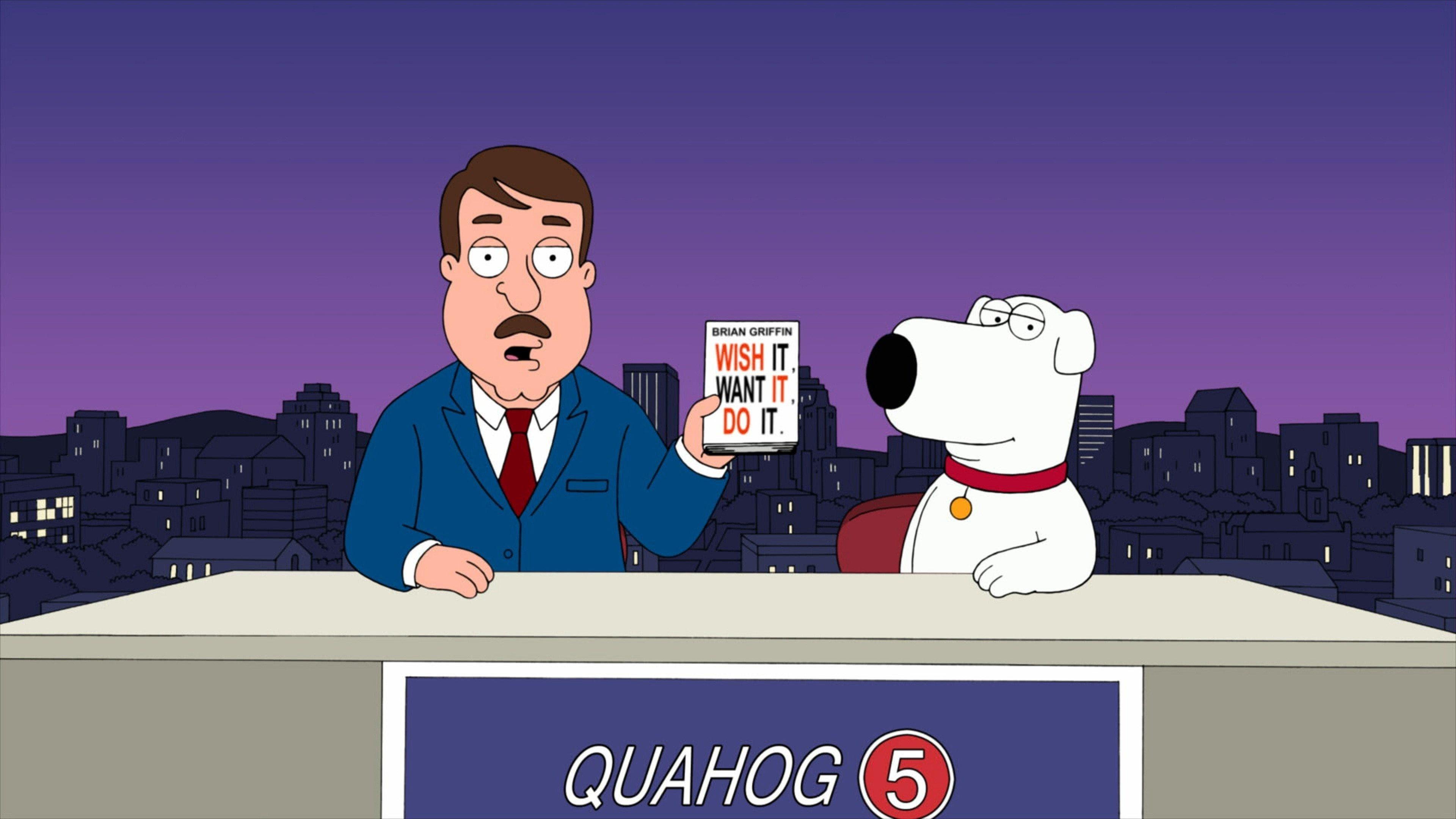 Family Guy Season 9 :Episode 6  Brian Writes a Bestseller
