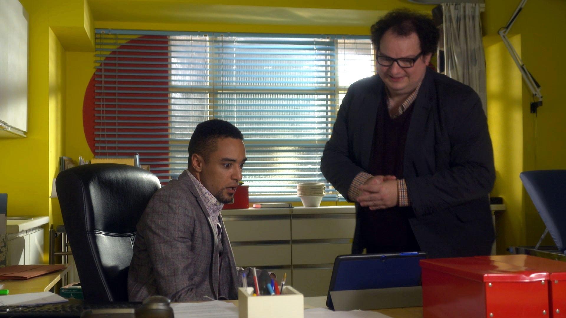 Doctors Season 18 :Episode 110  Locked In