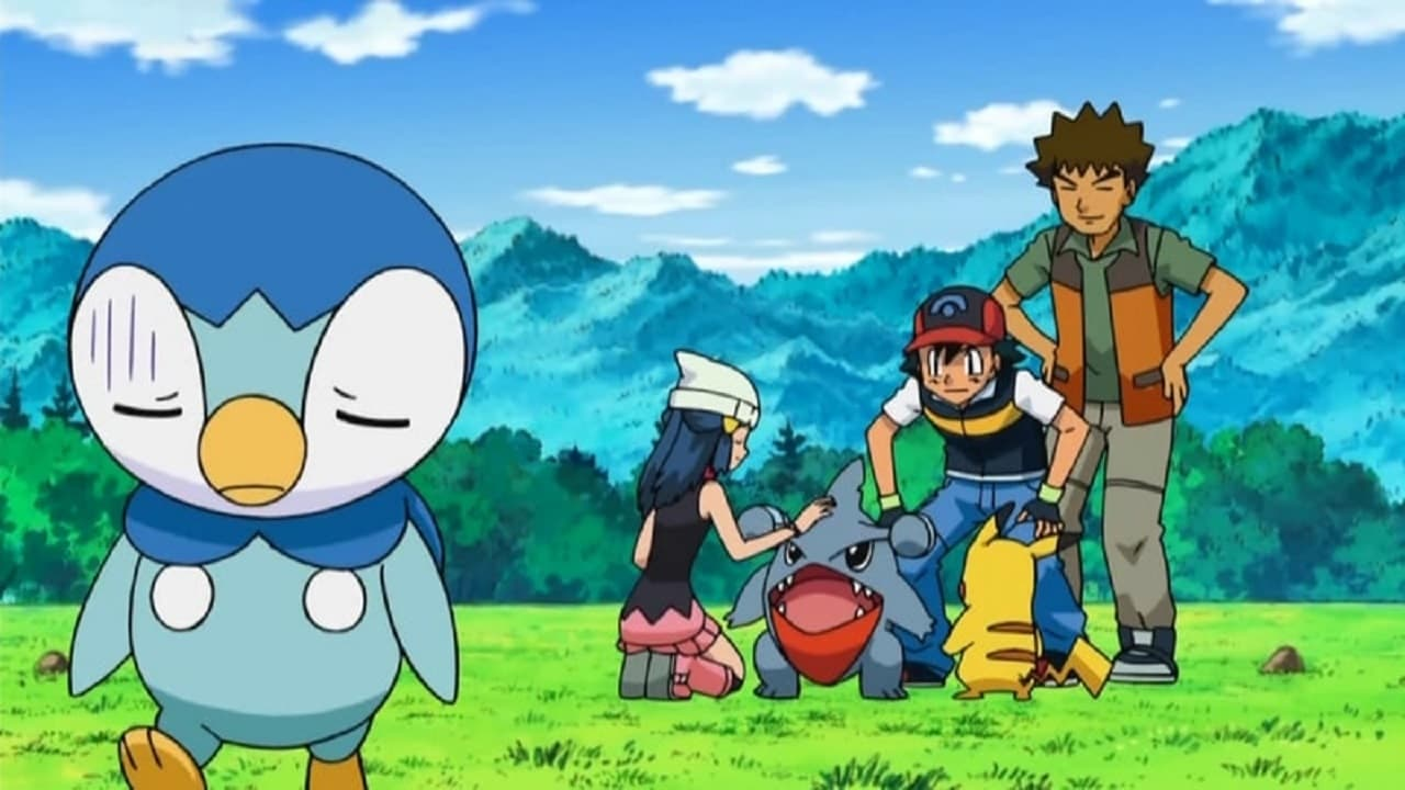 Pokémon Season 13 :Episode 7  Piplup, Up and Away!