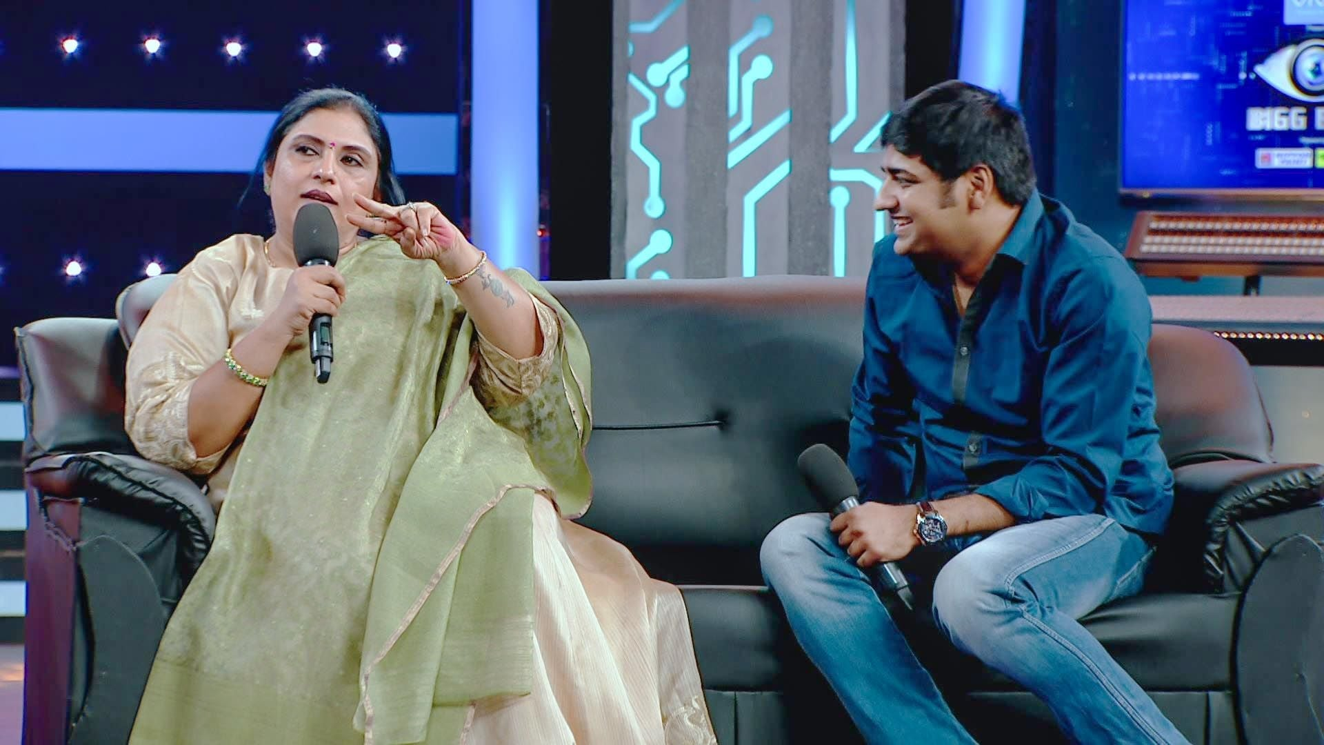 Bigg Boss Season 1 :Episode 49  Day 48: Sathish And Sripriya Visit