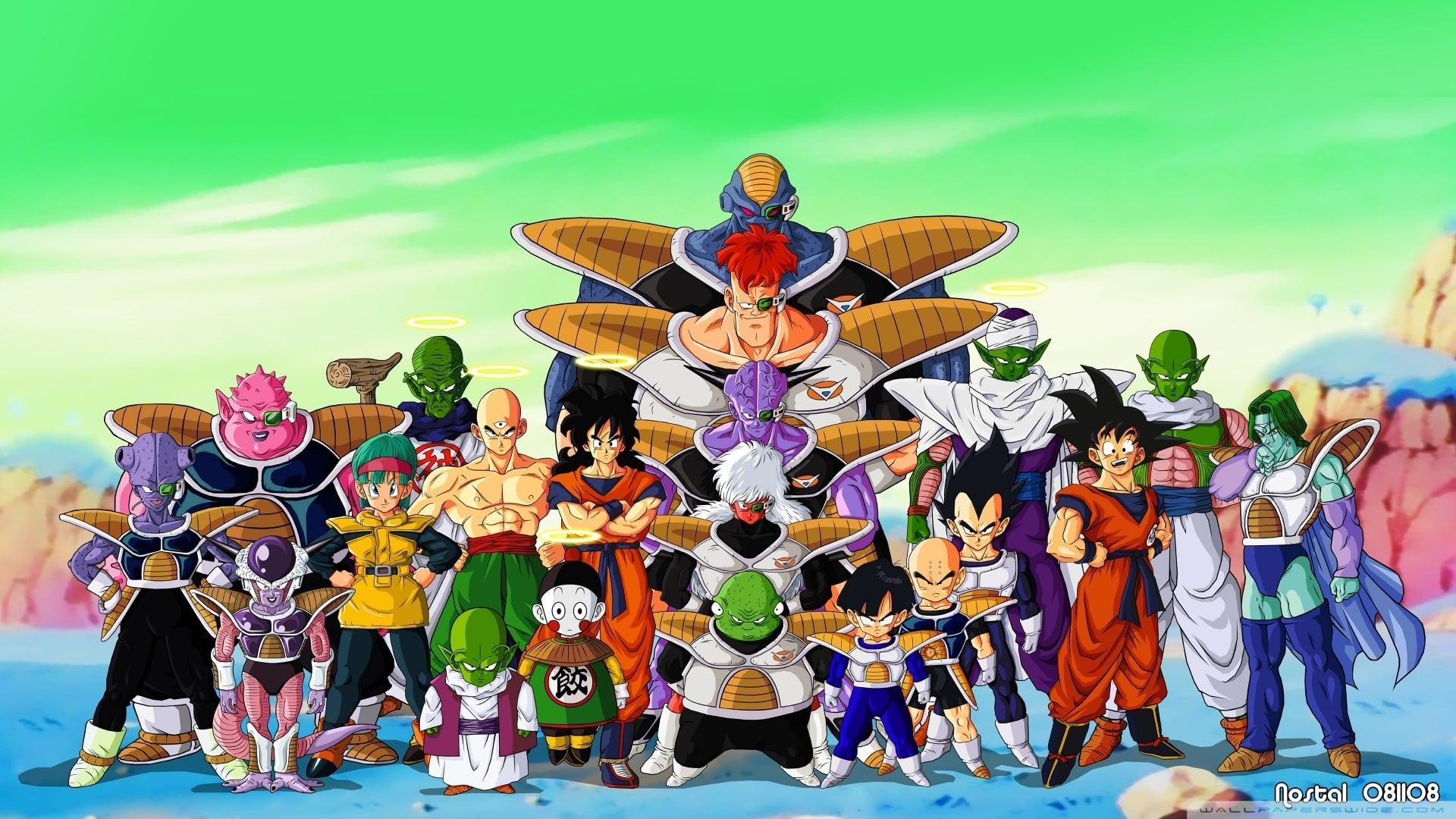 Uranai Baba Wallpaper Still of Dragon Ball z