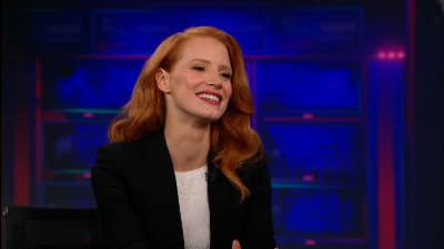 The Daily Show with Trevor Noah Season 18 :Episode 45  Jessica Chastain