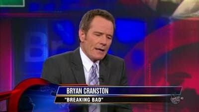 The Daily Show with Trevor Noah Season 15 :Episode 49  Bryan Cranston