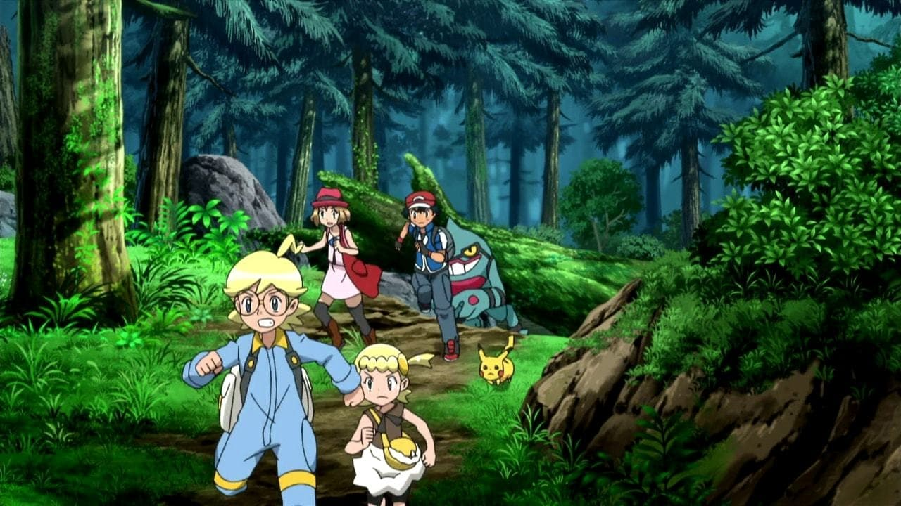 Pokémon Season 19 :Episode 10  A Cellular Connection!
