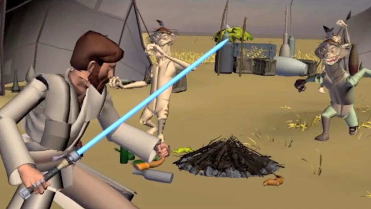 Star Wars: The Clone Wars - Season 0 Episode 24 : Story Reel: In Search of the Crystal