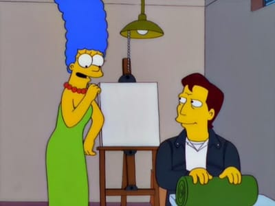 The Simpsons Season 12 :Episode 10  Pokey Mom
