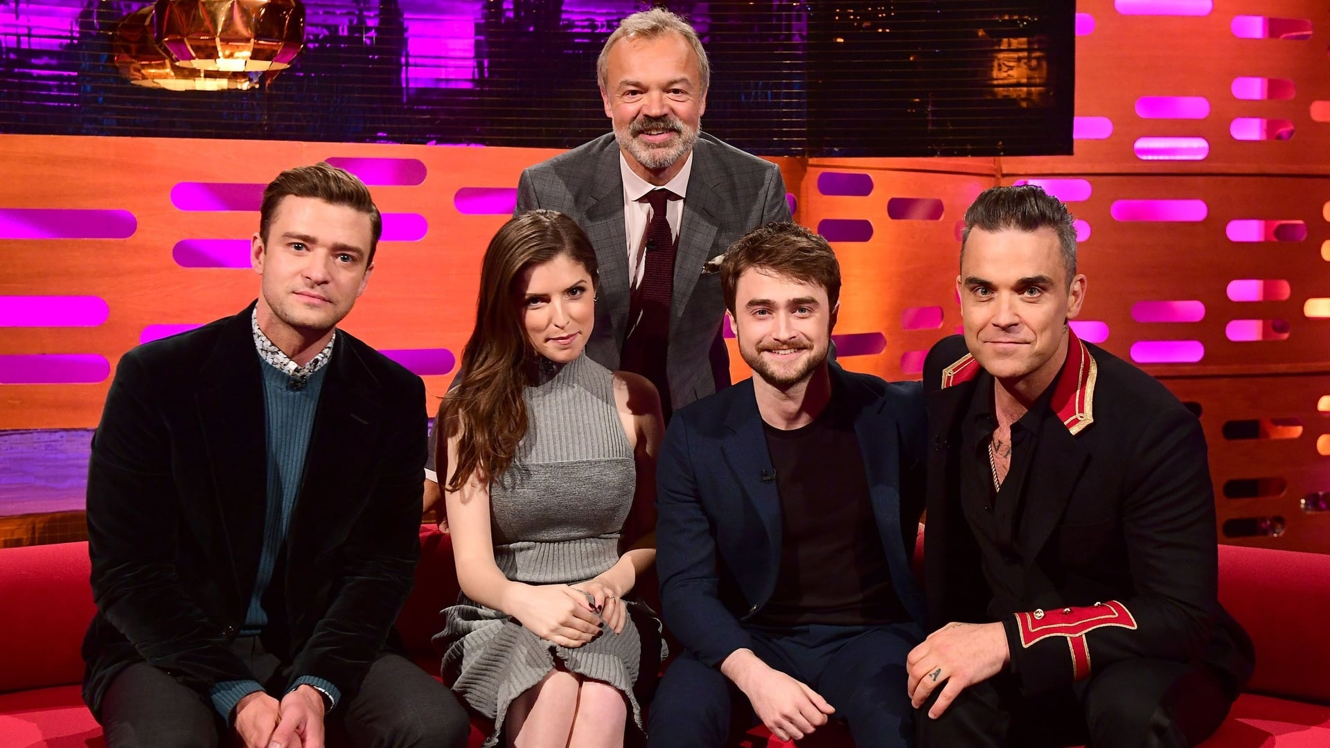 The Graham Norton Show Season 20 :Episode 1  Justin Timberlake, Anna Kendrick, Daniel Radcliffe, Robbie Williams